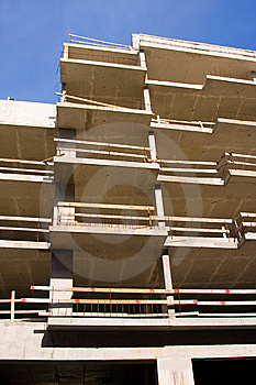 Reinforced Steel Structure, Under Construction Stock Photos - Image: 14172363