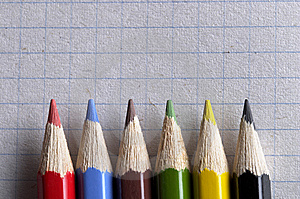 Colorful Pencils Stock Images - Image: 14175294
