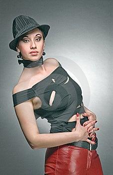 Bended Women Royalty Free Stock Image - Image: 14176206