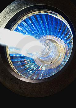 Close-up Of Light And Light Beam Stock Images - Image: 14178364