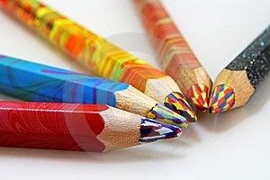 Lápices Del Color Foto de archivo libre de regalías - Imagen: 14182335