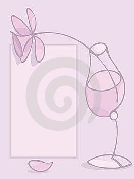 пинк стекла Стоковые Фотографии RF - изображение: 14182698