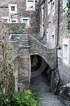 Living In A Small Stone Village Royalty Free Stock Image - Image: 14185436