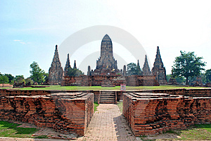 Old Thai Temple Royalty Free Stock Image - Image: 14185576