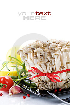 Mushrooms And Vegetables Royalty Free Stock Image - Image: 14186146