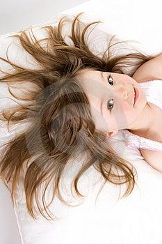 Little Girl Sleeping Stock Photos - Image: 14186743