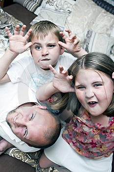 Silly Faces Stock Image - Image: 14190161