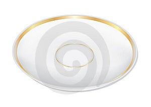 Plate (photorealistic) Stock Image - Image: 14190341