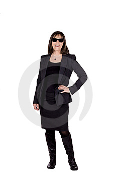 Senior Business Woman Royalty Free Stock Images - Image: 14191599