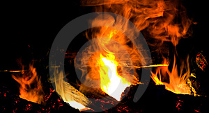 Fireplace Royalty Free Stock Photography - Image: 14192457