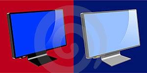 LCD / TFT Monitors Stock Image - Image: 14193181