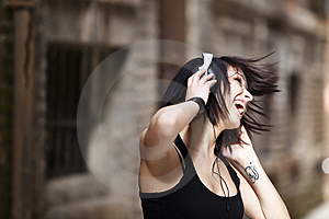Enjoying Music Royalty Free Stock Photos - Image: 14194068