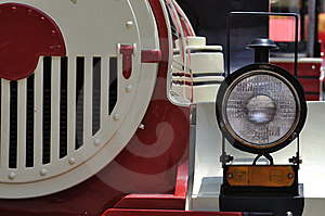 Head Light Of Train Royalty Free Stock Image - Image: 14195736