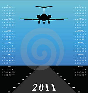 2011 Calendar Stock Image - Image: 14198071