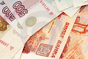 Russian Moneys Royalty Free Stock Image - Image: 14199786