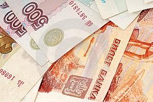 Russian Moneys Royalty Free Stock Image - Image: 14199786