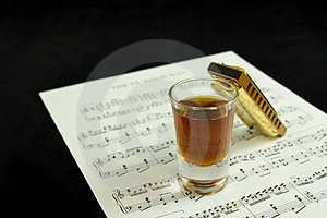 Booze And Blues Stock Photos - Image: 1421523