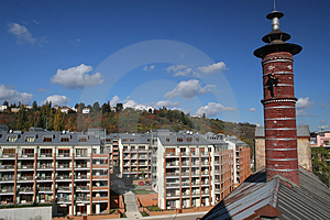 Modern Houses Royalty Free Stock Images - Image: 1422849