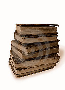 Old Books Stock Image - Image: 1425261