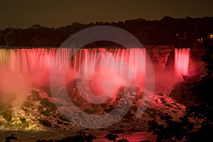 Niagara Red Royalty Free Stock Images - Image: 1427289