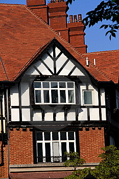 British Style House Stock Photo - Image: 14200730