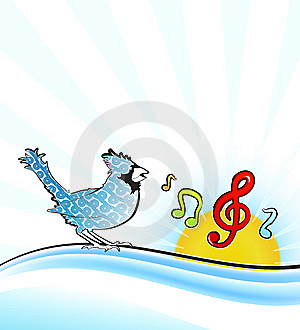 Singing Bird Stock Images - Image: 14203374