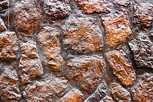 Red Rocks Wall Stock Photography - Image: 14206372