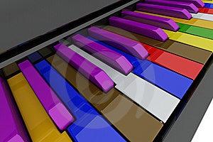 Tusen Dollar Keys Pianot Arkivbilder - Bild: 14207234