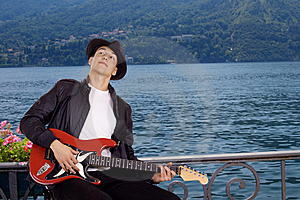 Guitar Player Stock Images - Image: 14207534