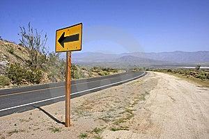 Left Turn Stock Photo - Image: 14207690