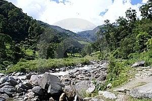 Annapurna Trekking Royalty Free Stock Image - Image: 14214626