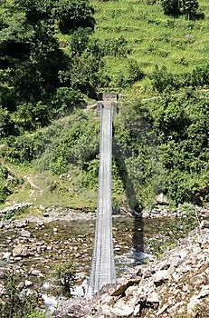 Senderismo De Annapurna Fotografía de archivo - Imagen: 14214662