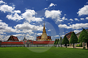 The Grand Palace In Bangkok Stock Images - Image: 14214744