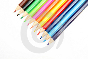 Color Pencils Royalty Free Stock Images - Image: 14215499