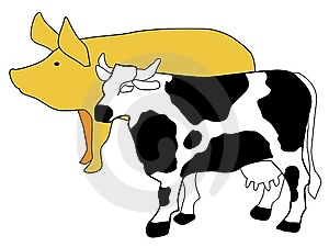 Symbol Of Cattle Breeding Royalty Free Stock Image - Image: 14216156