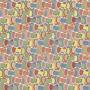 Seamless Textile Pattern Stock Image - Image: 14217271