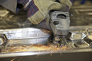 Angle Grinder Royalty Free Stock Photography - Image: 14217957