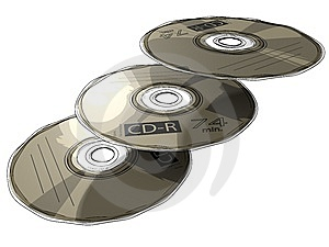 CD - DVD Stock Images - Image: 14218924