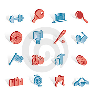 Sports Gear And Tools Royalty Free Stock Photos - Image: 14220558