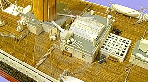 RMS Titanic Deck Boiler Room Royalty Free Stock Image - Image: 14221646