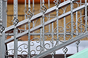 Handrail Detail Of Ladder Royalty Free Stock Photo - Image: 14221655