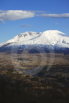 Mt. St. Helen's, National Monument & Park. Stock Photography - Image: 14223232