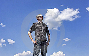 The Free Person Royalty Free Stock Image - Image: 14224296