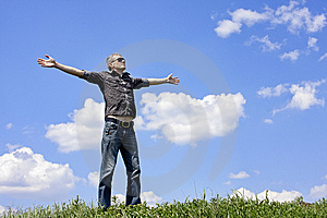 The Free Person Royalty Free Stock Photography - Image: 14224637
