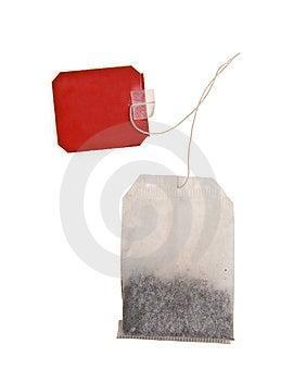 Teabag Isolated On White Stock Photos - Image: 14224653