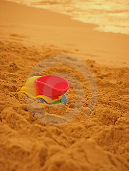 Summer Beach Royalty Free Stock Photography - Image: 14228867