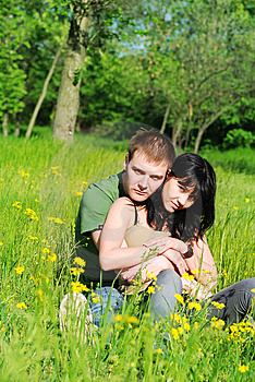 Young Beautiful Couple Stock Photography - Image: 14229012