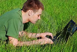 Young Man Outdoor Stock Photos - Image: 14229113