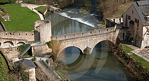 Medieval Stone Bridge Stock Photography - Image: 14229942