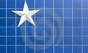 Blue Star Background Stock Photography - Image: 14230352